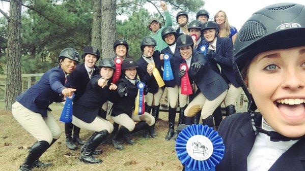 IHSA Hunter Seat High Point Team at Duke/Chapel Hill Show
