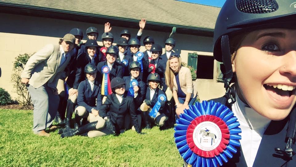 Winners IHSA Hunter Seat at Wilmington