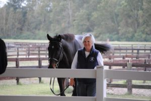Equestrian Program Director Peggy McElveen