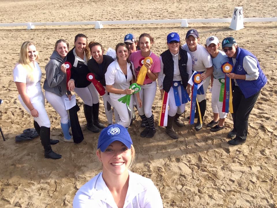 High Point Team, High Point and Reserve High Point Riders. Great start to the year!