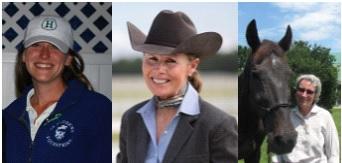 Head Coaches Robin Brooks, Carla Wennberg & Jackie Dwelle