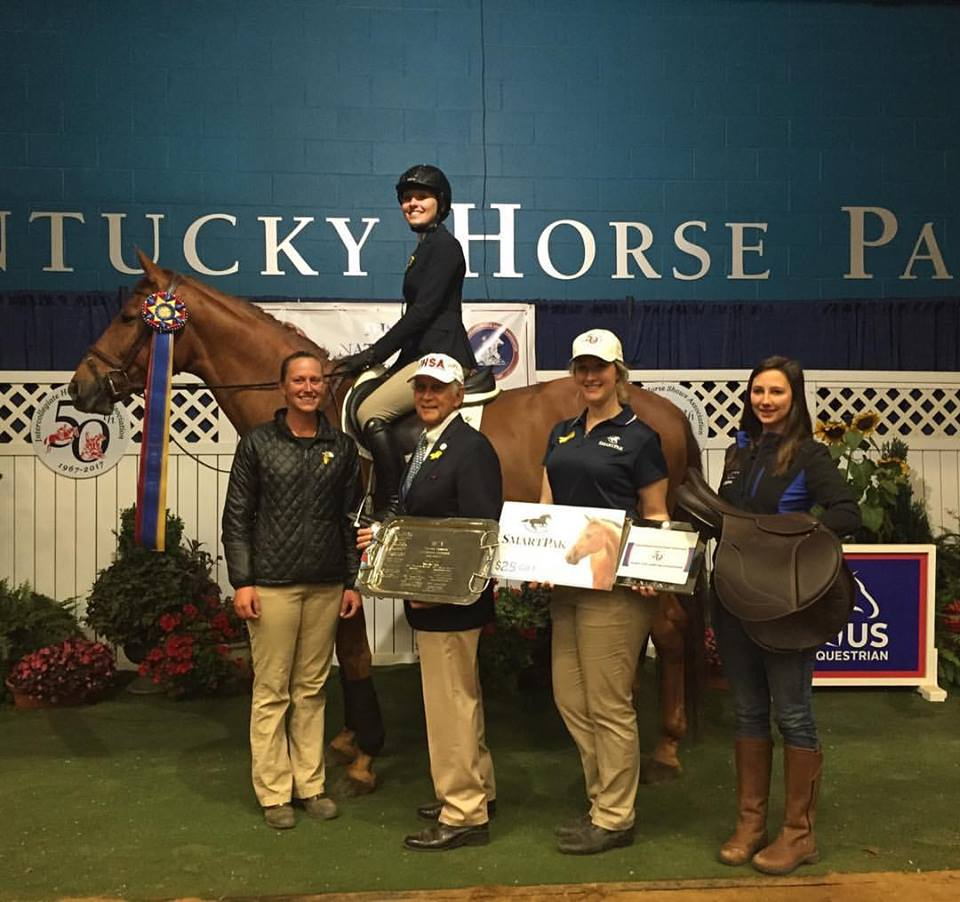 Sabrina Vlacich Individual Intermediate Fences National Champion