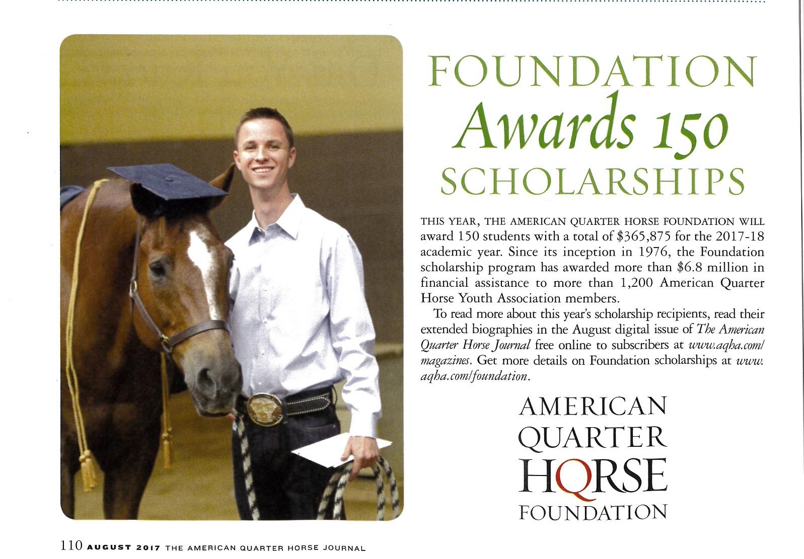 AQHA Foundation Awards