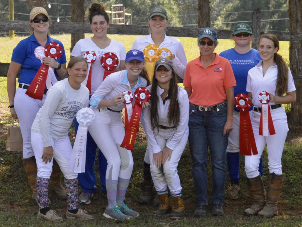 Dressage Team at WFU last year
