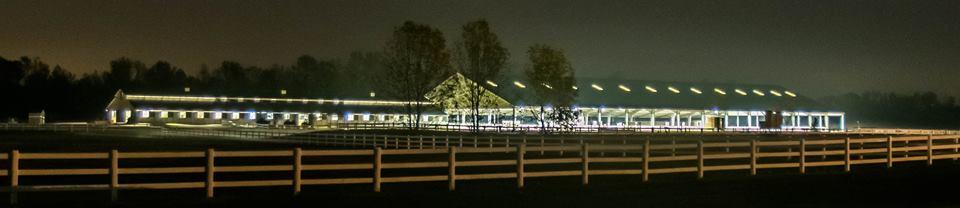 Equestrian College Moonrise