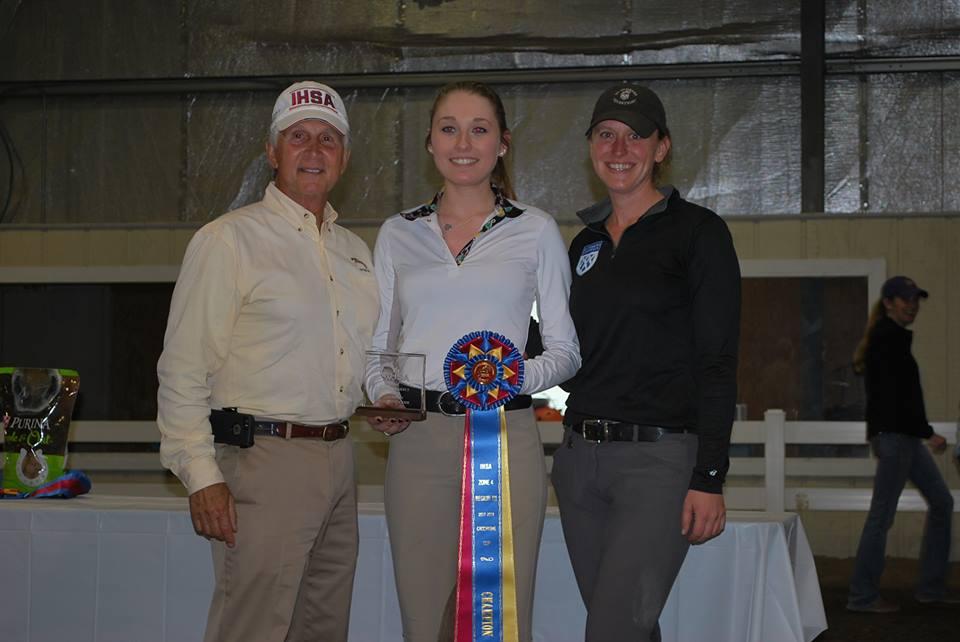 IHSA Regional Champion Sabrina Vlacich