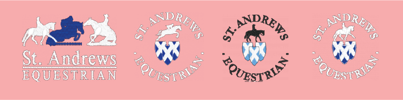 St. Andrews Equestrian Program Logos