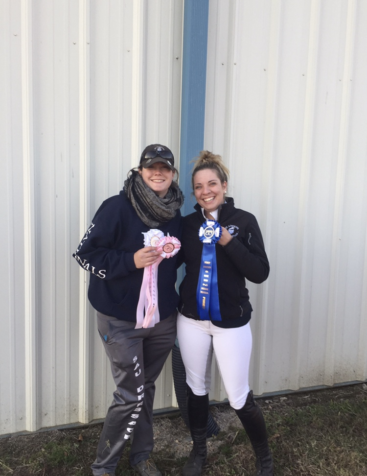 Reserve Champions Gaby Stephens and Hannah Sutton