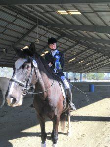Jaime Donaldson St. Andrews Intercollegiate Dressage Team
