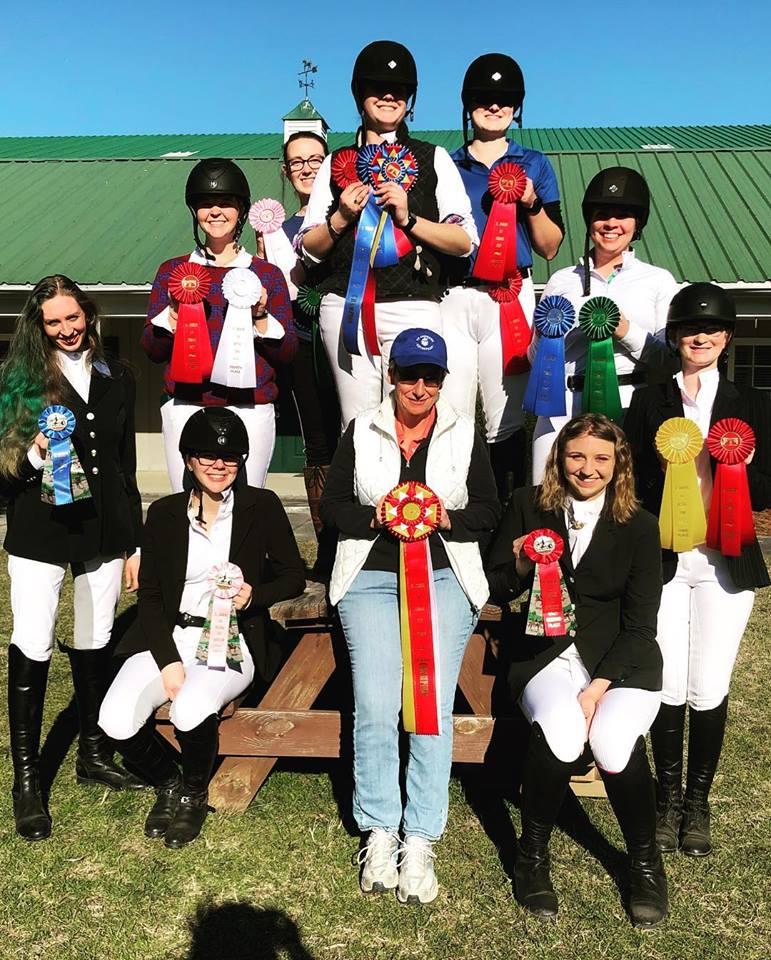 St. Andrews Intercollegiate Dressage Team