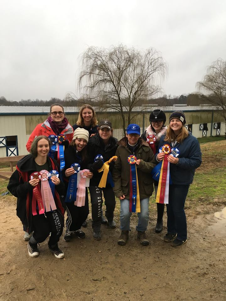 St. Andrews Dressage Team at Averett University